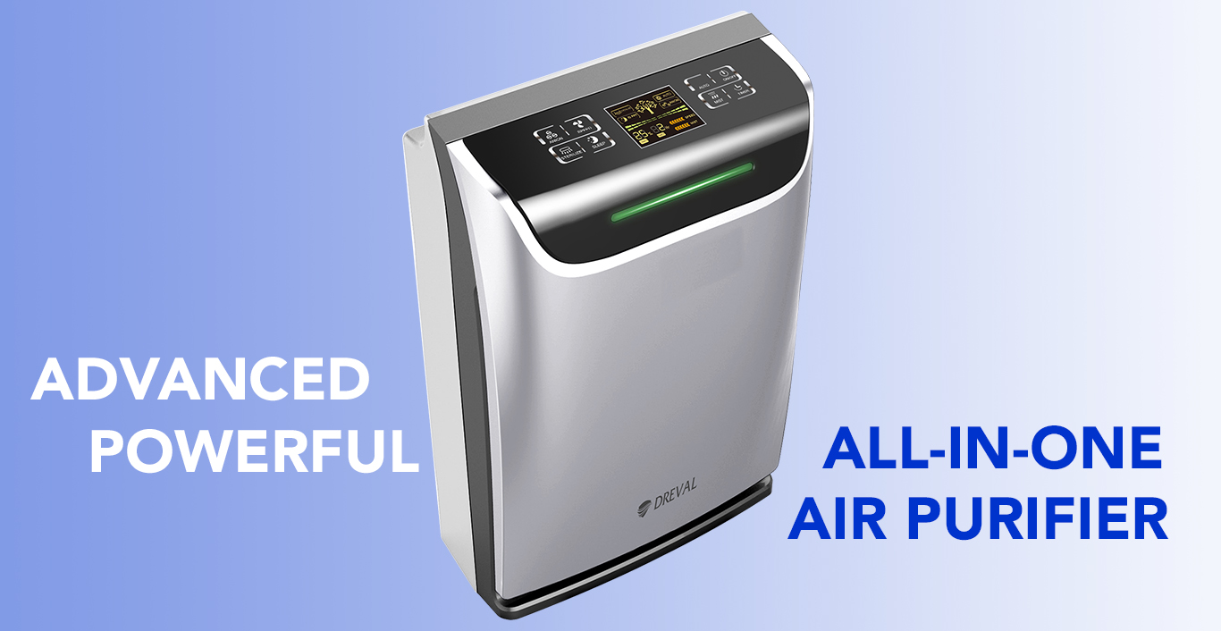 Dreval D 950 Intelligent All In One Air Hepa Purifier
